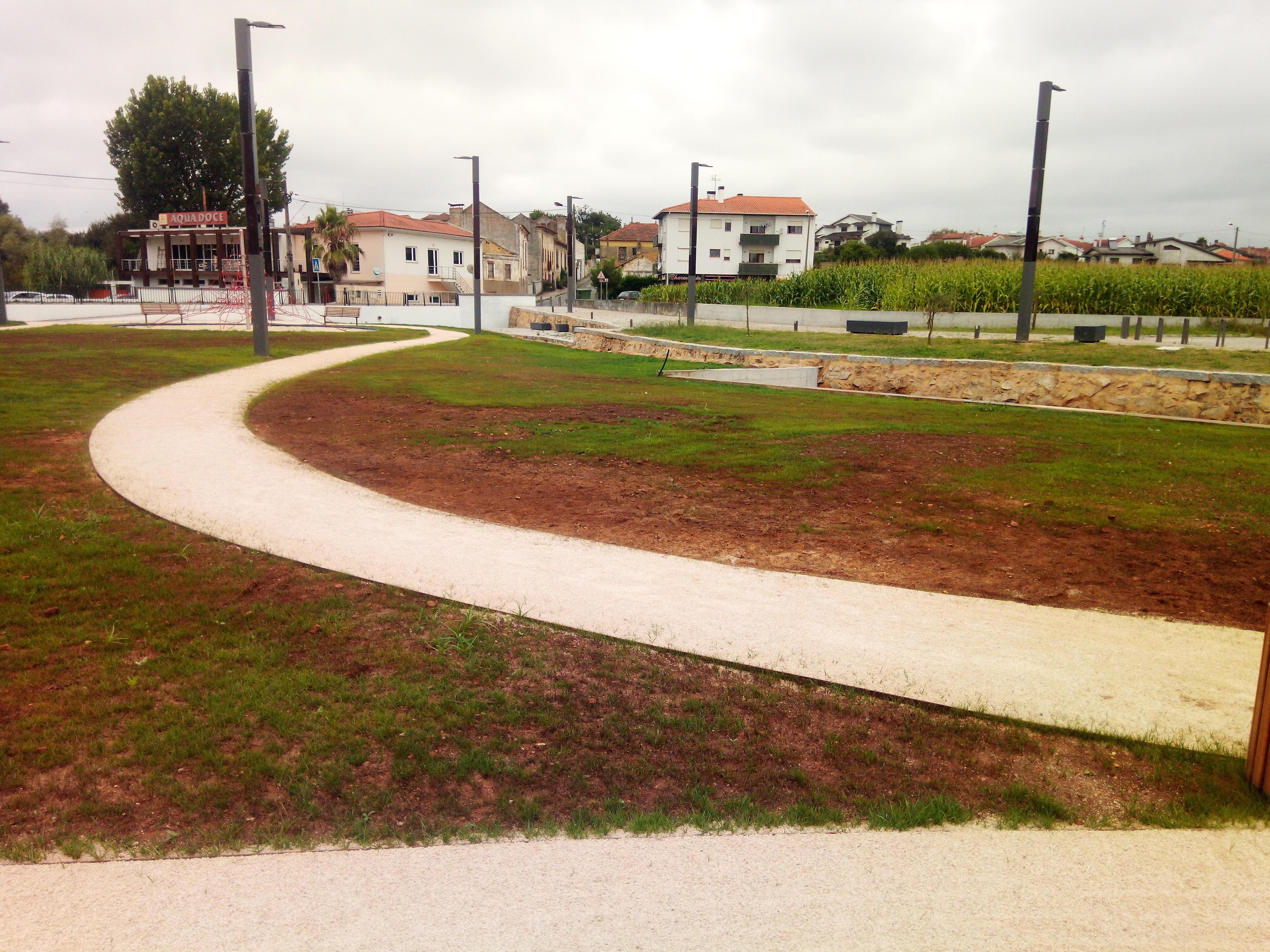 Requalificação de parque urbano - Aguada de Cima 2018